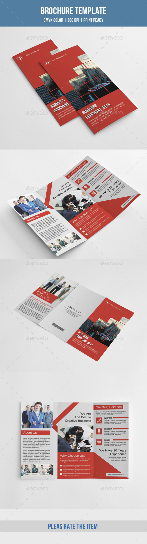 Corporate Trifold Brochure-V221 - Corporate Brochures
