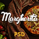 Margherita - Online Ordering Pizza Restaurant PSD Nulled