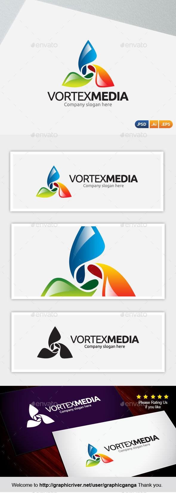 Vortex Media - Abstract Logo Templates