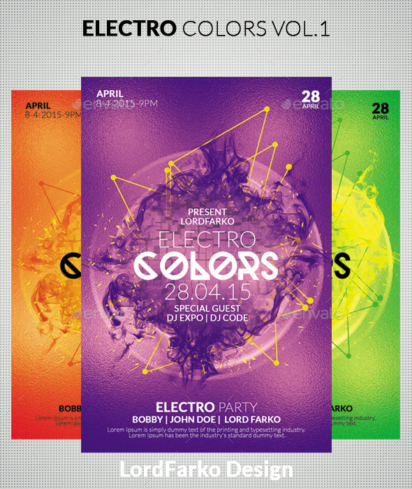 Electro Colors Vol.1 - Clubs & Parties Events