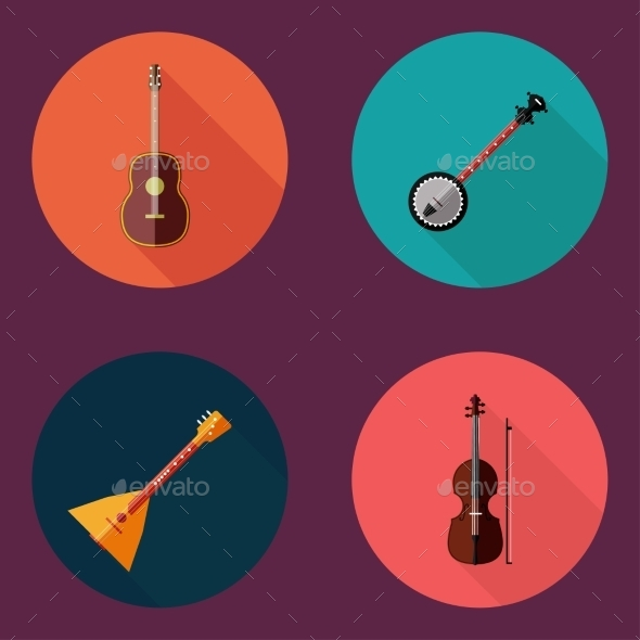 Musical Instrument - Decorative Symbols Decorative