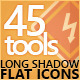 45 FLat Construction Icons Set - GraphicRiver Item for Sale