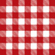Vector Red Checkered Pattern Tablecloth - GraphicRiver Item for Sale
