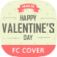 Valentine's Day Timeline Cover - GraphicRiver Item for Sale