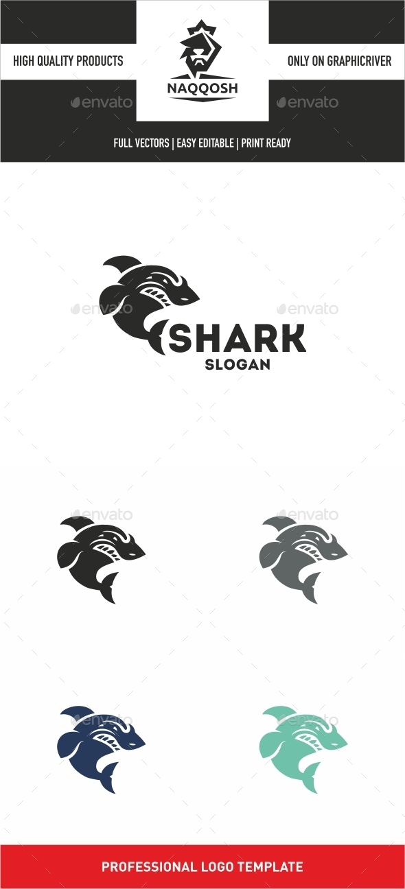 Shark Logo - Logo Templates