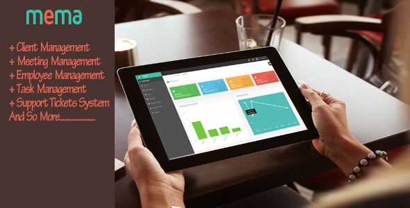 MEMA-Meeting and Employee Management Application - CodeCanyon Item for Sale