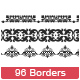 96 Borders Custom Shape - GraphicRiver Item for Sale