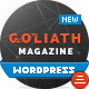 GOLIATH - Ads Optimized News & Reviews Magazine Nulled
