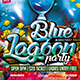 Flyer Blue Lagoon Konnekt - GraphicRiver Item for Sale