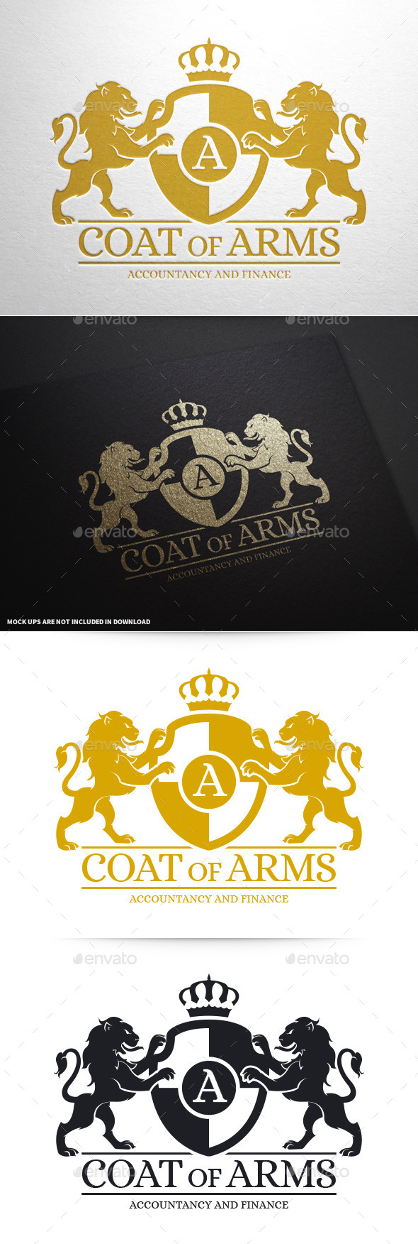 Coat Of Arms Logo Template - Crests Logo Templates