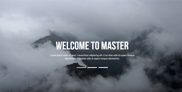 Master – Multipurpose Muse Template