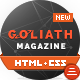 GOLIATH - News & Reviews Magazine Template