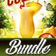 Cocktail Flyer Bundle Vol.1 - GraphicRiver Item for Sale