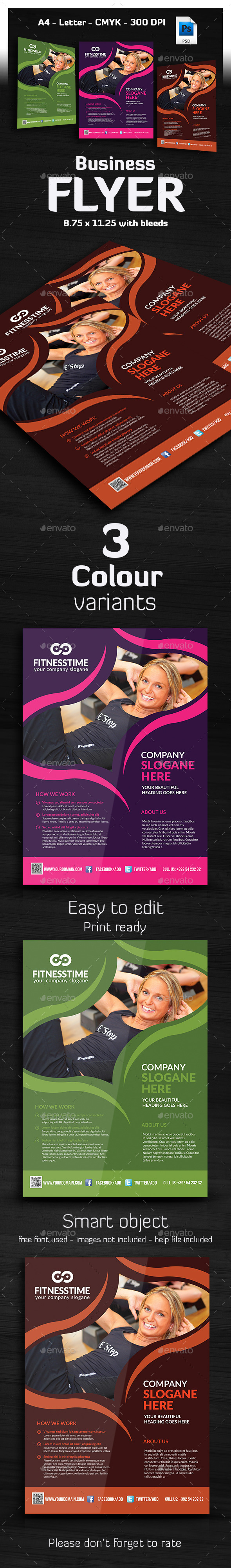 Tivato - Ultimate Business Flyer  - Corporate Flyers