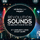 Revolution Sound Flyer  - GraphicRiver Item for Sale