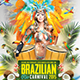 Brazilian Rio Carnival Flyer  - GraphicRiver Item for Sale
