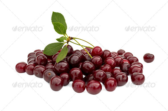 Cherry pile - Stock Photo - Images