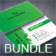 Green Business Card Bundle - GraphicRiver Item for Sale