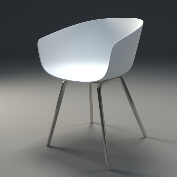 About a chair HAY - 3DOcean Item for Sale