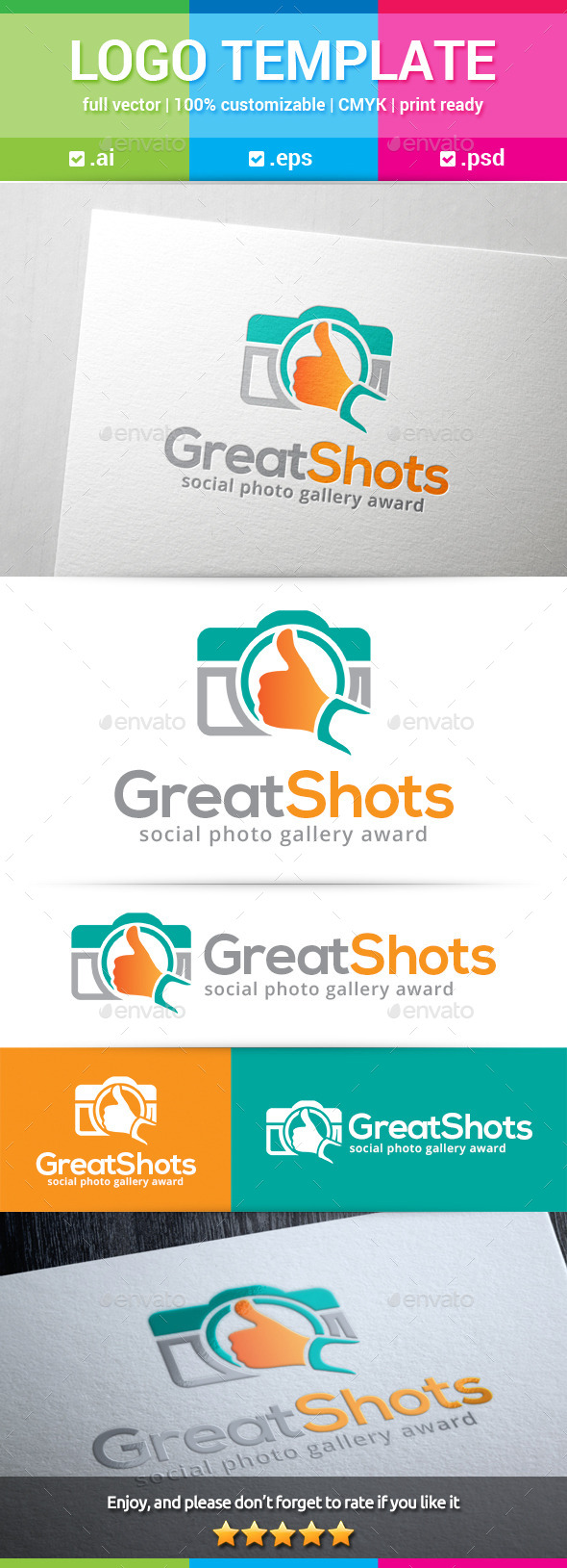 Great Shots Logo - Objects Logo Templates
