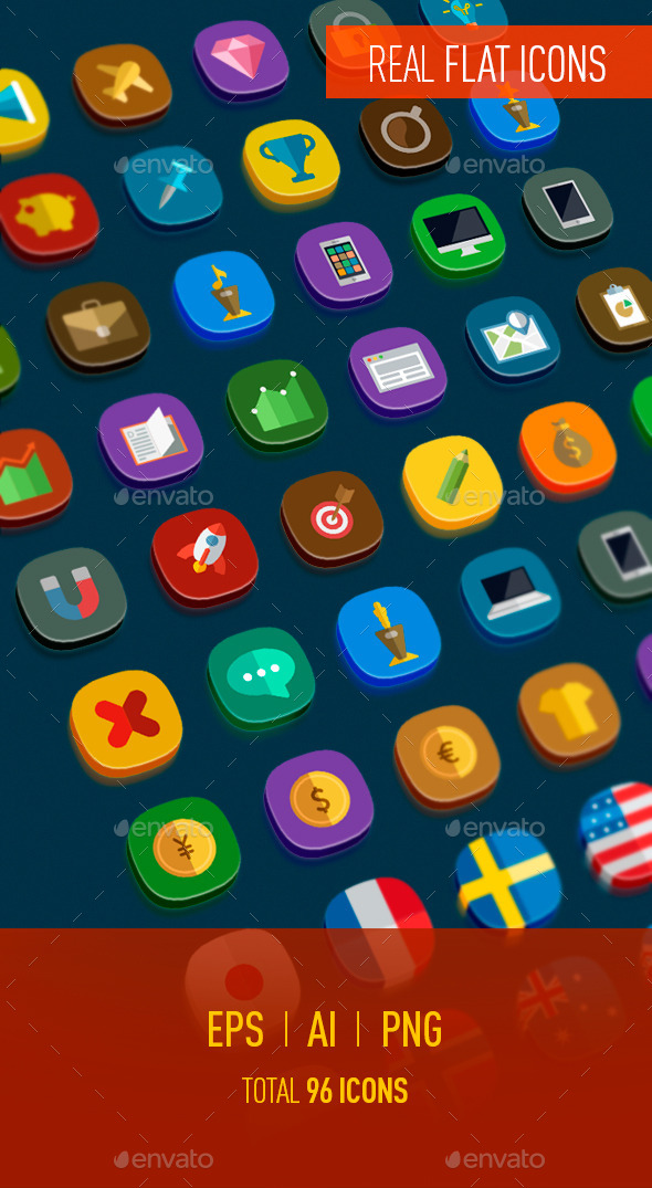 Icons Flat - Miscellaneous Icons