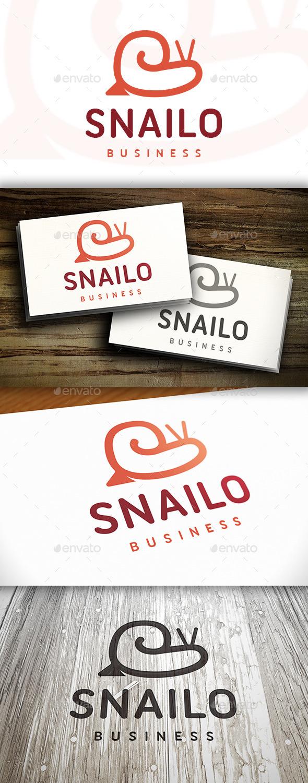 Snail Logo Template - Animals Logo Templates
