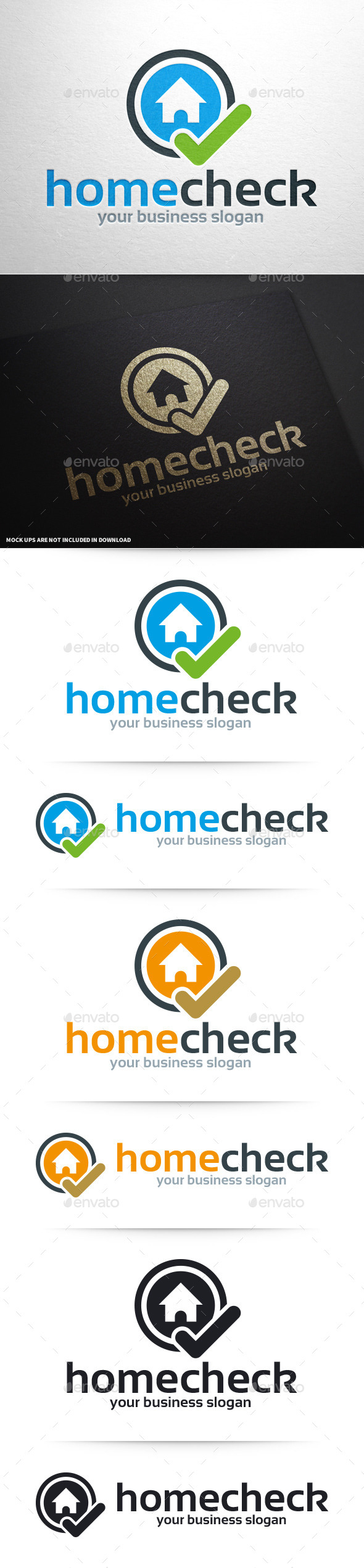 Home Check Logo Template - Symbols Logo Templates