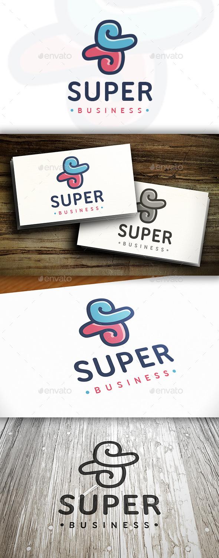 Super S Letter Logo - Letters Logo Templates