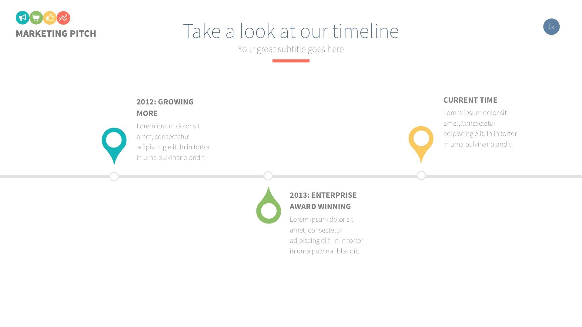Marketing Slide Pitch Deck Keynote Template by LouisTwelve-Design ...