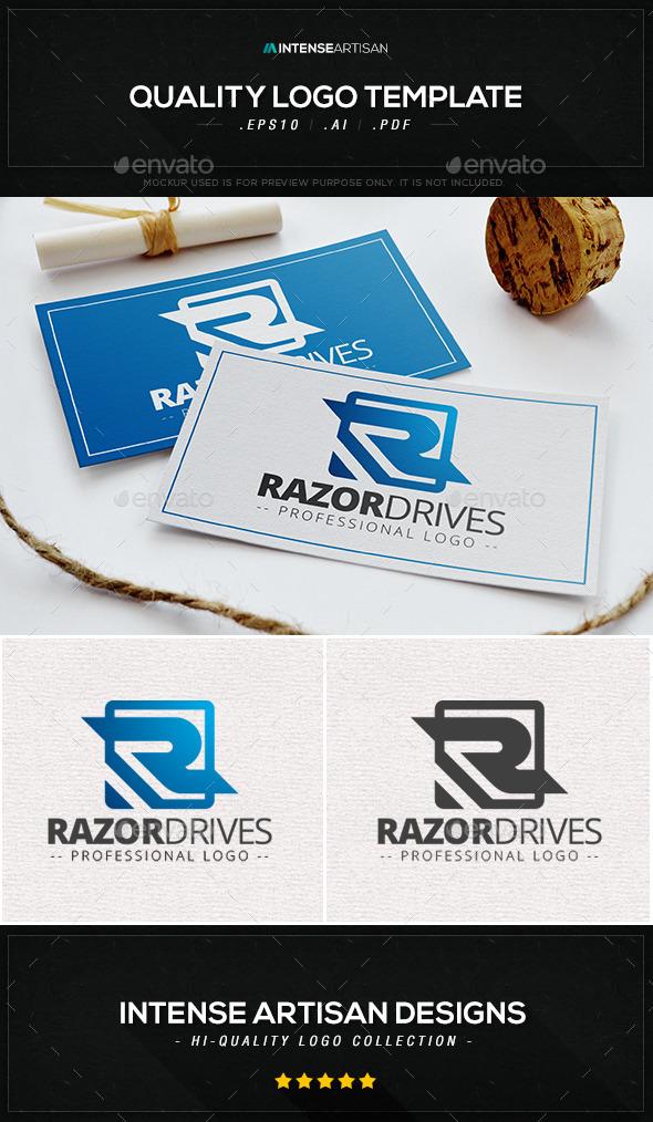 Razor Drives Logo Template - Letters Logo Templates