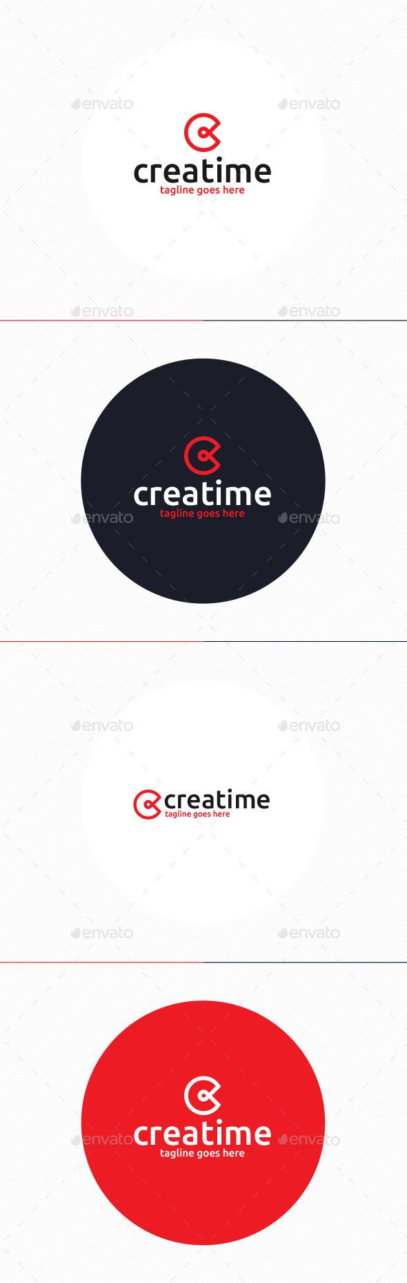 Creatime Logo • Letter C - Letters Logo Templates