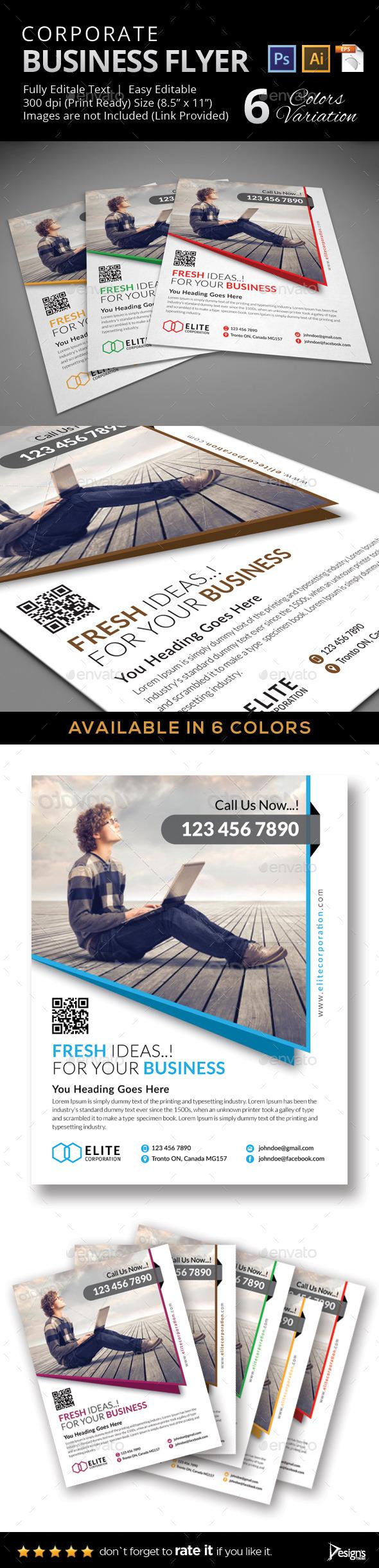 Flyer - Multipurpose Business Flyer 31 - Flyers Print Templates