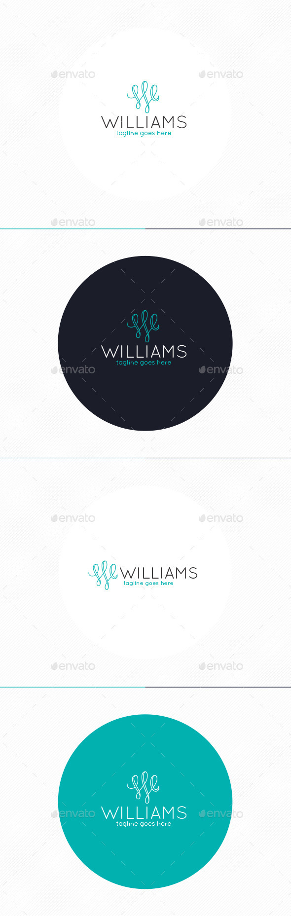 Williams Logo • Letter W - Letters Logo Templates