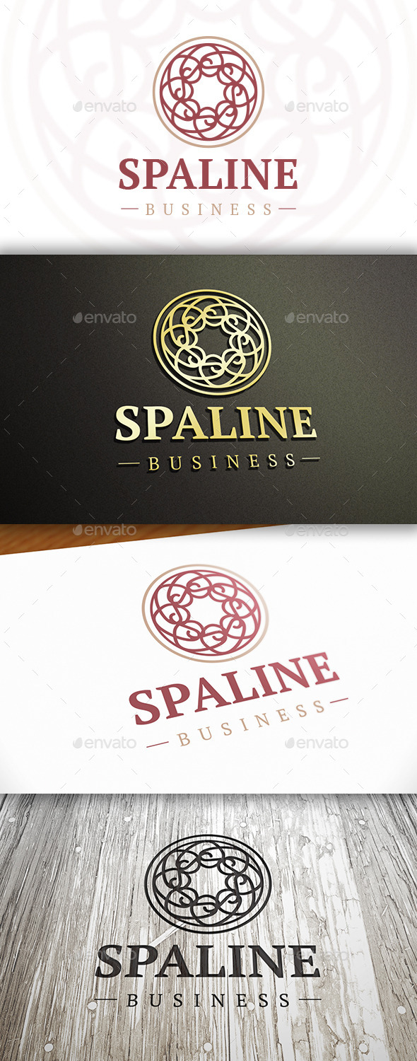 Spa Line Logo - Crests Logo Templates