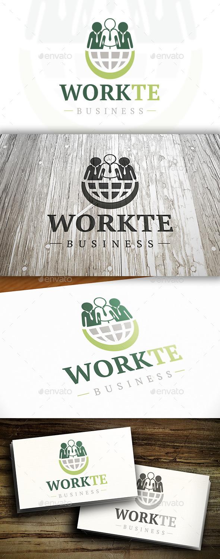World Team Logo - Humans Logo Templates