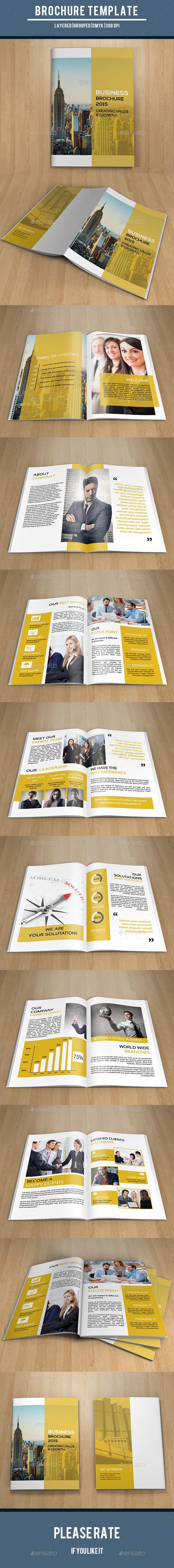 Corporate Bifold Brochure-V194 - Corporate Brochures