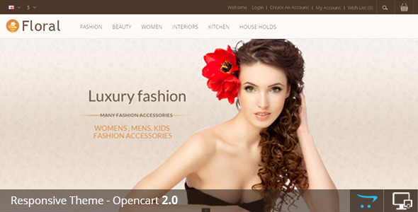 Floral – Opencart Responsive Template