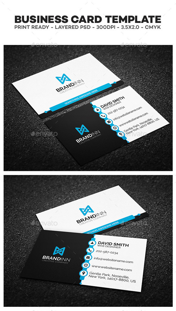 Creative Corporate Business Card 02 - Creative Business Cards