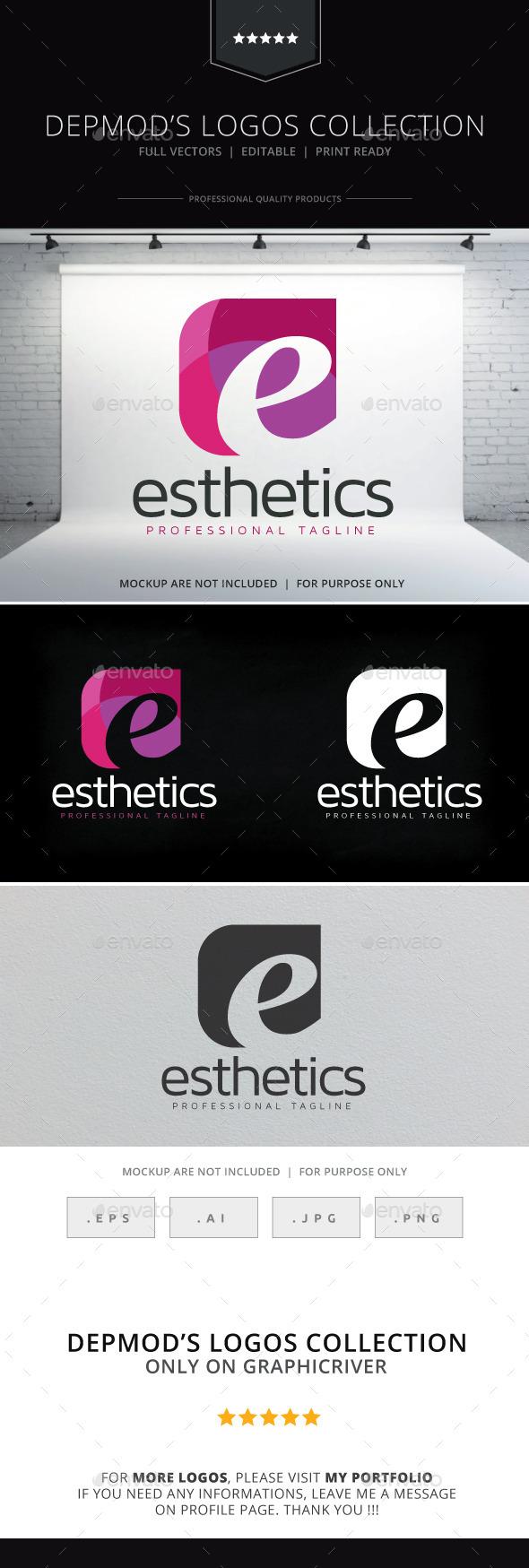Esthetics Logo - Letters Logo Templates