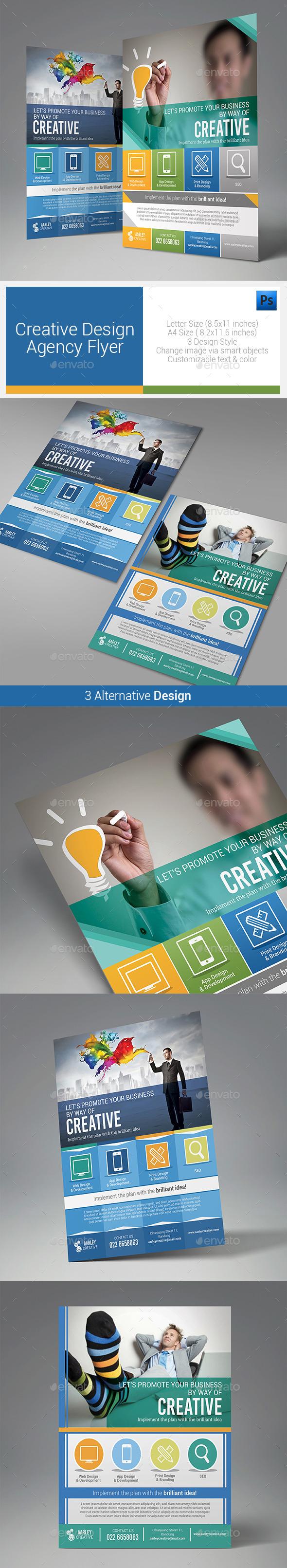 Creative Design Agency Flyers - Corporate Flyers