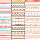 Tribal Ethnic Seamless Patterns - GraphicRiver Item for Sale