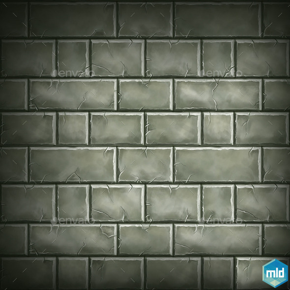 Brick Tile Texture 03 - 3DOcean Item for Sale