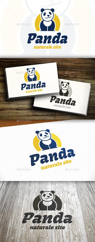 Panda Logo Template - Animals Logo Templates