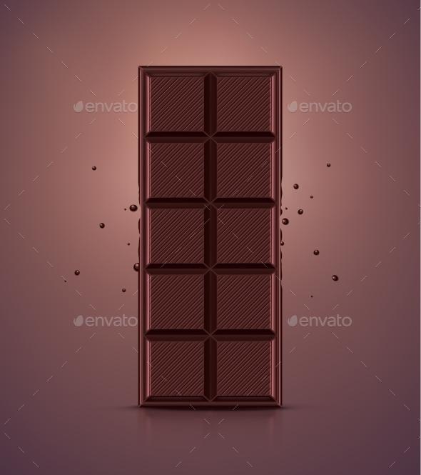 Chocolate Bar - Food Objects