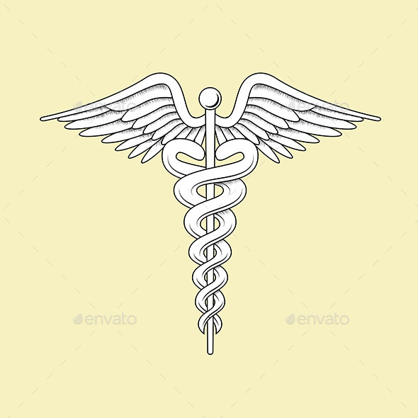 Medical Caduceus - Health/Medicine Conceptual