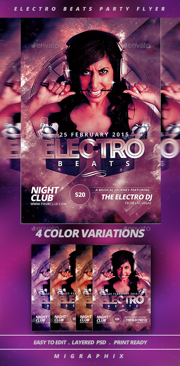 Electro Beats - Clubs & Parties Events