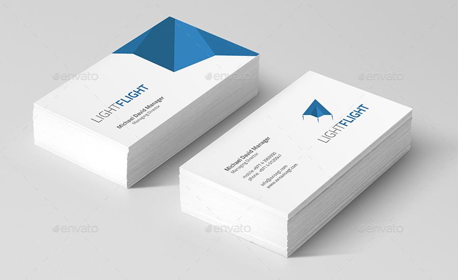 Clean & Modern Corporate ID & Stationery Bundle 1 by chrisatlemon