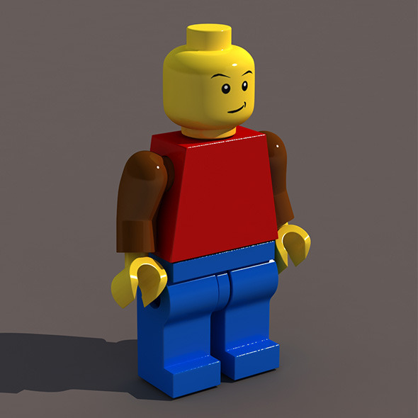 Lego Man - 3DOcean Item for Sale