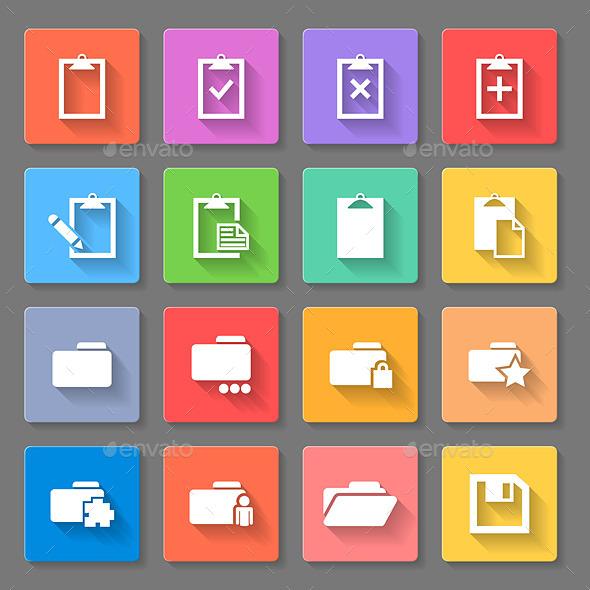 Flat Icons - Miscellaneous Vectors