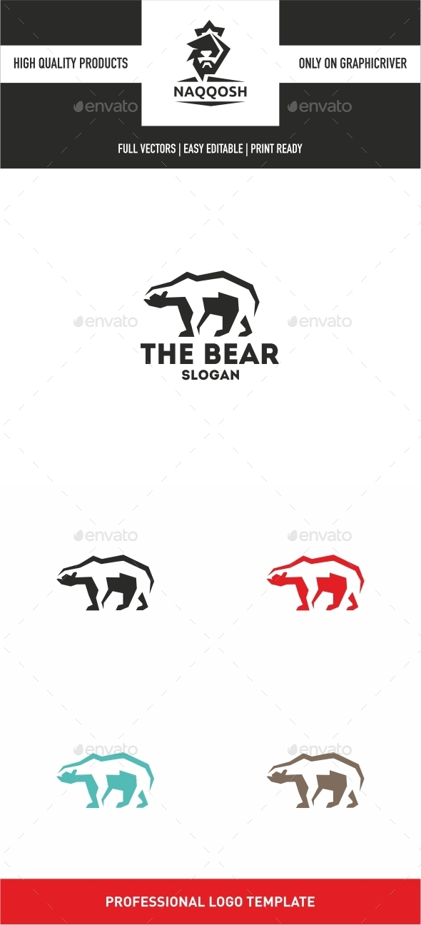 The Bear - Logo Templates